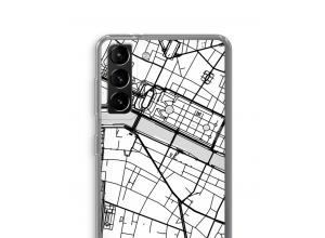 Mettez une carte de ville sur votre coque Galaxy S21 Plus