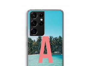 Concevez votre propre coque monogramme Samsung Galaxy S21 Ultra
