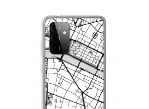 Mettez une carte de ville sur votre coque Galaxy A72 5G