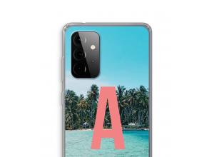 Concevez votre propre coque monogramme Galaxy A72 5G