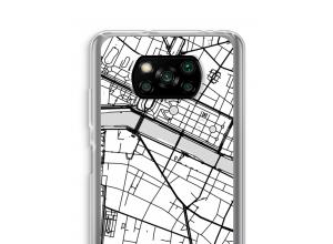 Mettez une carte de ville sur votre coque Xiaomi Poco X3 NFC