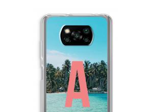 Concevez votre propre coque monogramme Xiaomi Poco X3 NFC