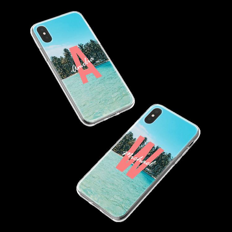 Mettez votre monogramme sur une coque iPhone 4 / 4S smartphone