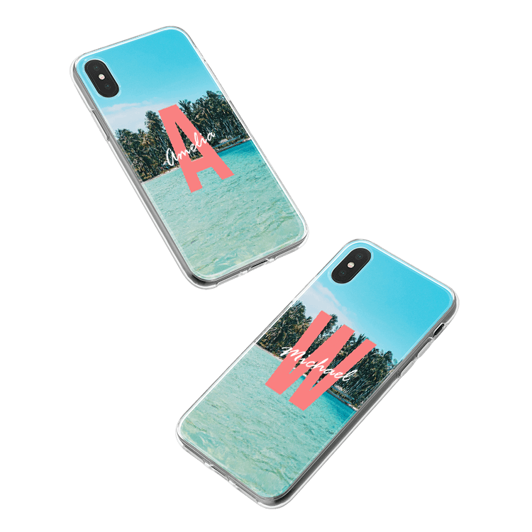 Mettez votre monogramme sur une coque Samsung Galaxy J5 (2017) smartphone